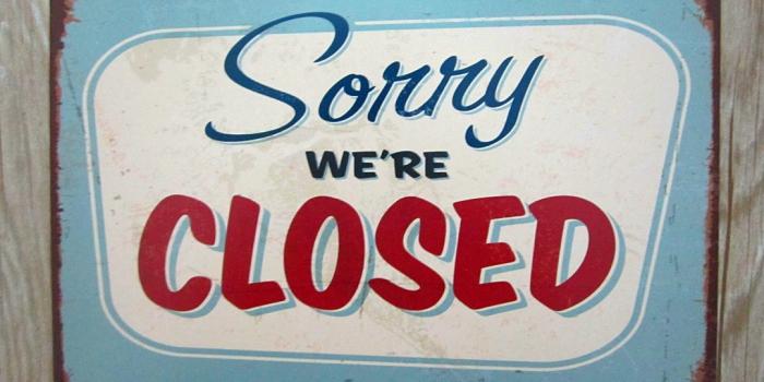 (English) Gesloten Closed