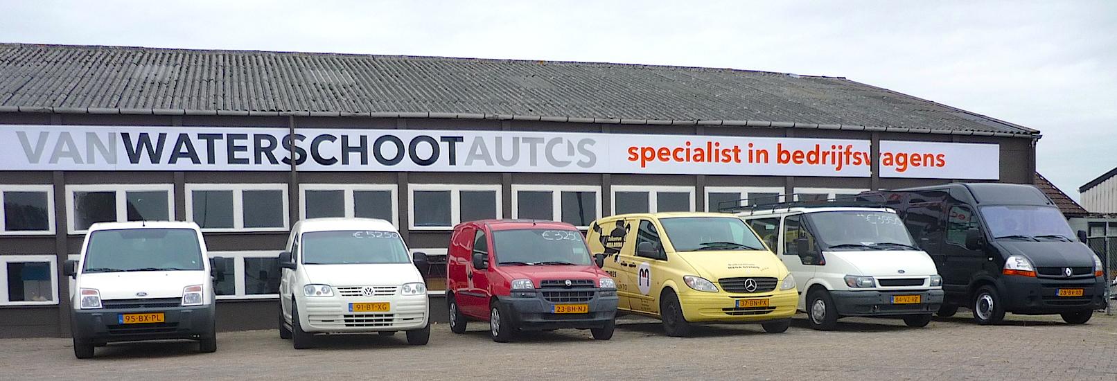 Zes bedrijfsvoertuigen voor Van Waterschoot auto's